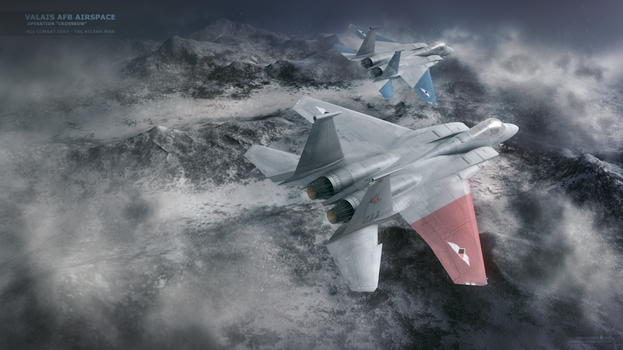 The Galm - Art (Ace Combat Zero) by Steelmax