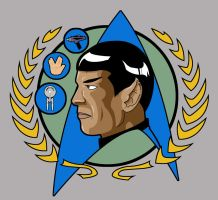 Star Trek Spock by CJJennings