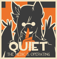 The Medic is Operating by Ryhaal