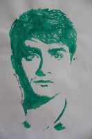 Daniel Radcliffe by Arspe