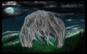 Composure - Coloured art - Silver Willow by PrincessSaros
