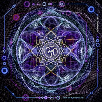 Cyber mandala v 1.0 / may 2015 by NeoDruidNeoArt