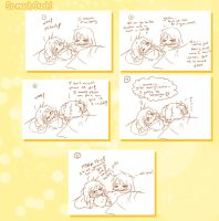 .:Short Comic- So much Ouch!:. by Nardhwen