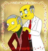 TS - Burns and Smithers Senior by gabrielcic
