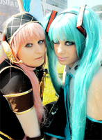 Miku and Luka cosplay 1 by AliceNero