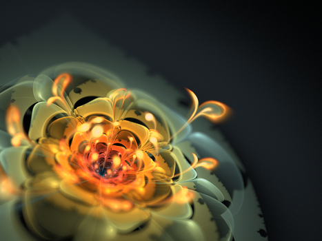 Glass flower by Theli-at