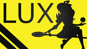 LUX Silhouette - Yellow - Black Metal - 1920x1080 by urban287