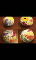 3D Origami Swirled Ball by LuvYen101