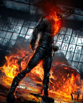 Ghost Rider by CKGoksoy