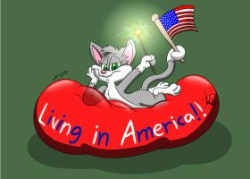 Rita's 4th of July BALLOON!!! by RupertBlueFox