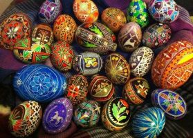 Pysanky by ABlume