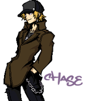 Chase in TWEWY by Phailure123