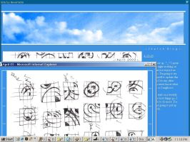 Sketch Blog Site Layout by 000nevermore000