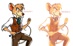 Basil of Baker Street (2 Versions, ONLY Colored!) by Fantasy-Fashionista