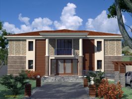 Villa at Malatya 2 by 1zmim