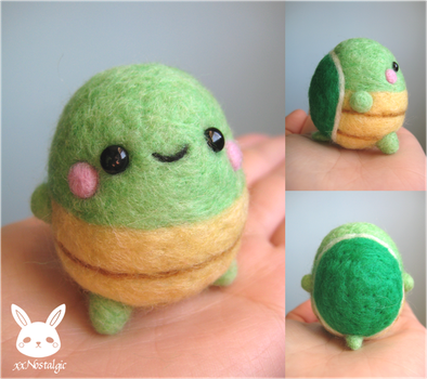 Felted Turtle by xxNostalgic
