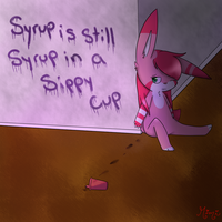 Syrup is Still Syrup  by MimiTheFox
