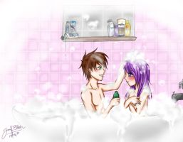 Bath Time: Crushshipping by whitty-boo