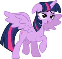 Twillight Sparkle (tired) by davidsfire