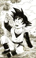 """My forever friends""--Goten by genaminna"