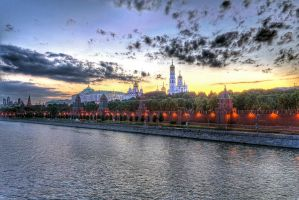 Moscow Kremlin by AmniosDesign