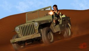 Tomb Raider - Jeep by JMystique
