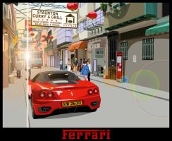 ferrari by rompenstein