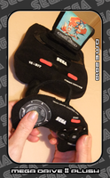MEGA DRIVE II PLUSH by tavington