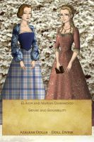 Sense and Sensibility - Elinor and Marianne by BlueFairy123