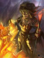 Fire witch by APetruk