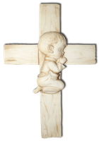 Cross from Fishbone 001 - Clear Cut PNG by Travail-de-lame