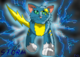 Storm (random pic for Thundercat009) by SuperSonicFireDragon