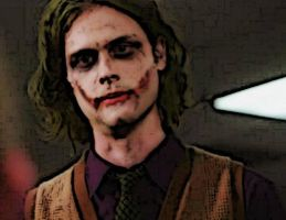 Dr. Spencer Reid, Joker by Falthee