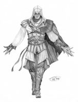 Ezio Auditore by herdi6325
