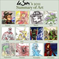 2011 Art Summary by LeSam