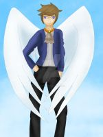 .: OC Design 2 - Darek the Angel :. by ASinglePetal