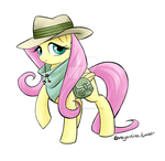 Michael Morones Recovery Fund - Fluttershy Safari by tarajenkins