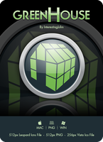 Greenhouse Icon by InterestingJohn