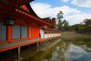 Itsukushima Shrine by Tim-Wilko