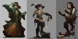 Adventurers of Pathfinder by damie-m