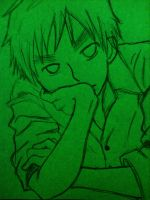 England Sketch Green~ by Death-Sama01