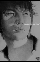 Jaejoong - Drawing :For Riko: by MakaiAsh
