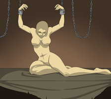 base 60.1 Woman in Chains by Amara-nthine