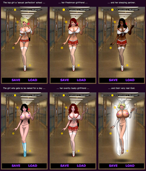 Enchanted Erotica - Cast for Serving Detention by supernaturalerotica