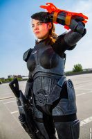 Shepard from Mass Effect by padregeek