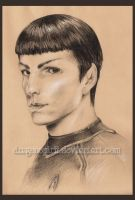 Star Trek: Spock by DragonSpirit469