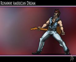 Runaway American Dream by cheddarpaladin