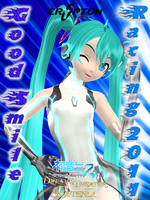 DT Racing Miku 2011 - CARD by Edward85