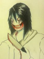 Another Jeff the killer peice by CautiousInsanity