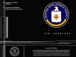 cia terminal login by doofy139